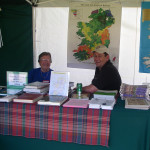 Steve N Linda Filtzgerald SGS table at Highland games_July 2014